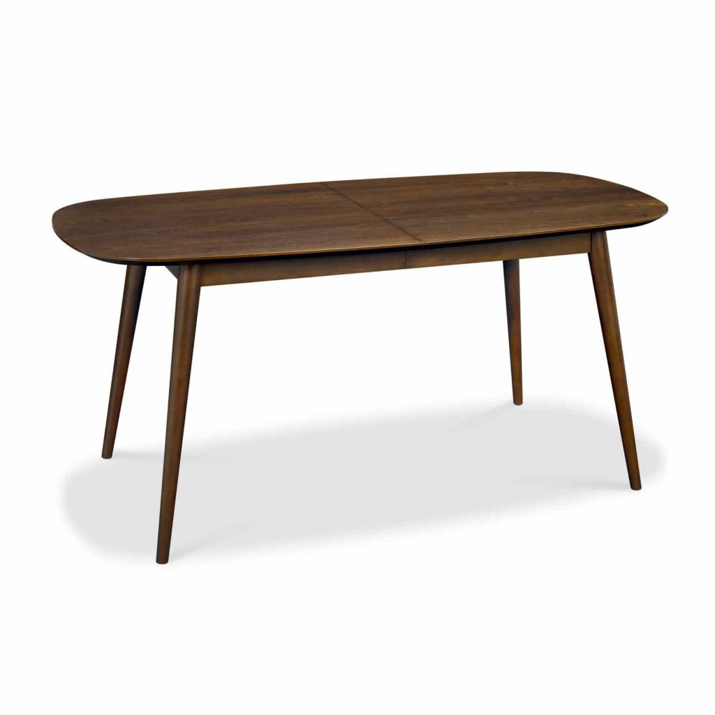 Vale furnishers carnaby walnut extending dining table