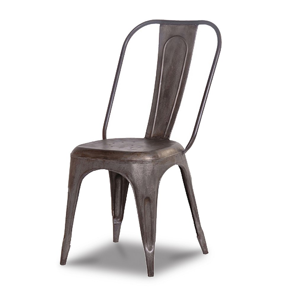 pewter metal dining chair 119 this attractive metal chair will