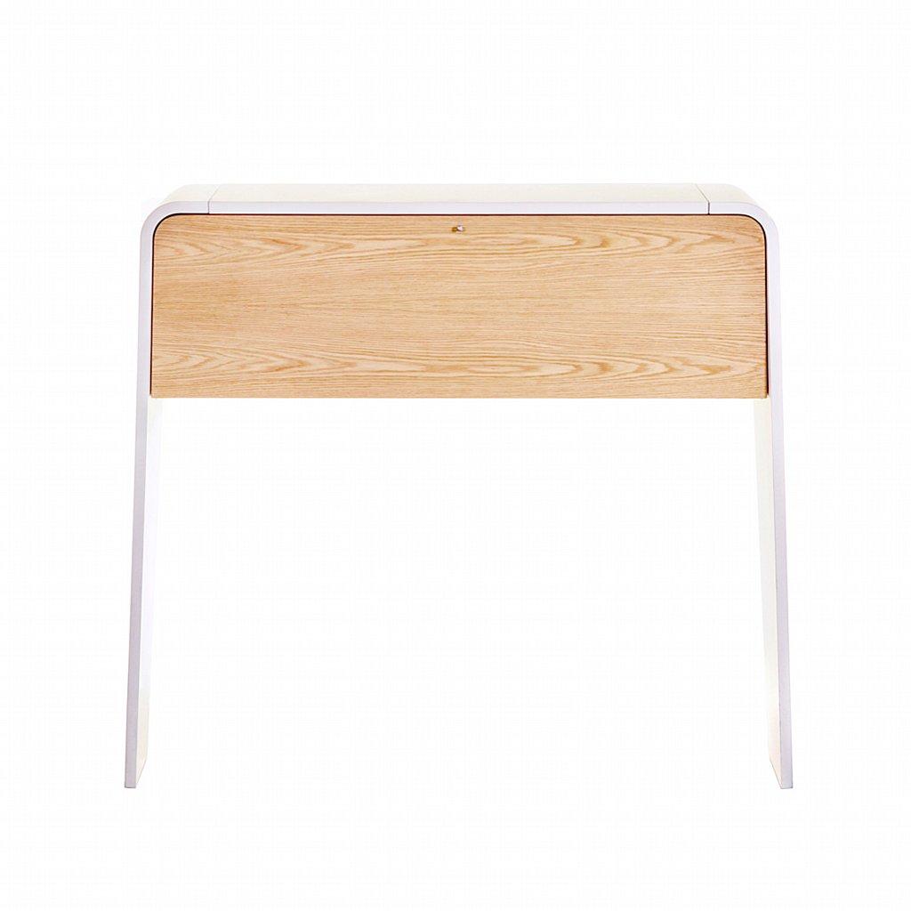Evolution Slim Line Own Pedestal Desks Entrawood Office Slim ...