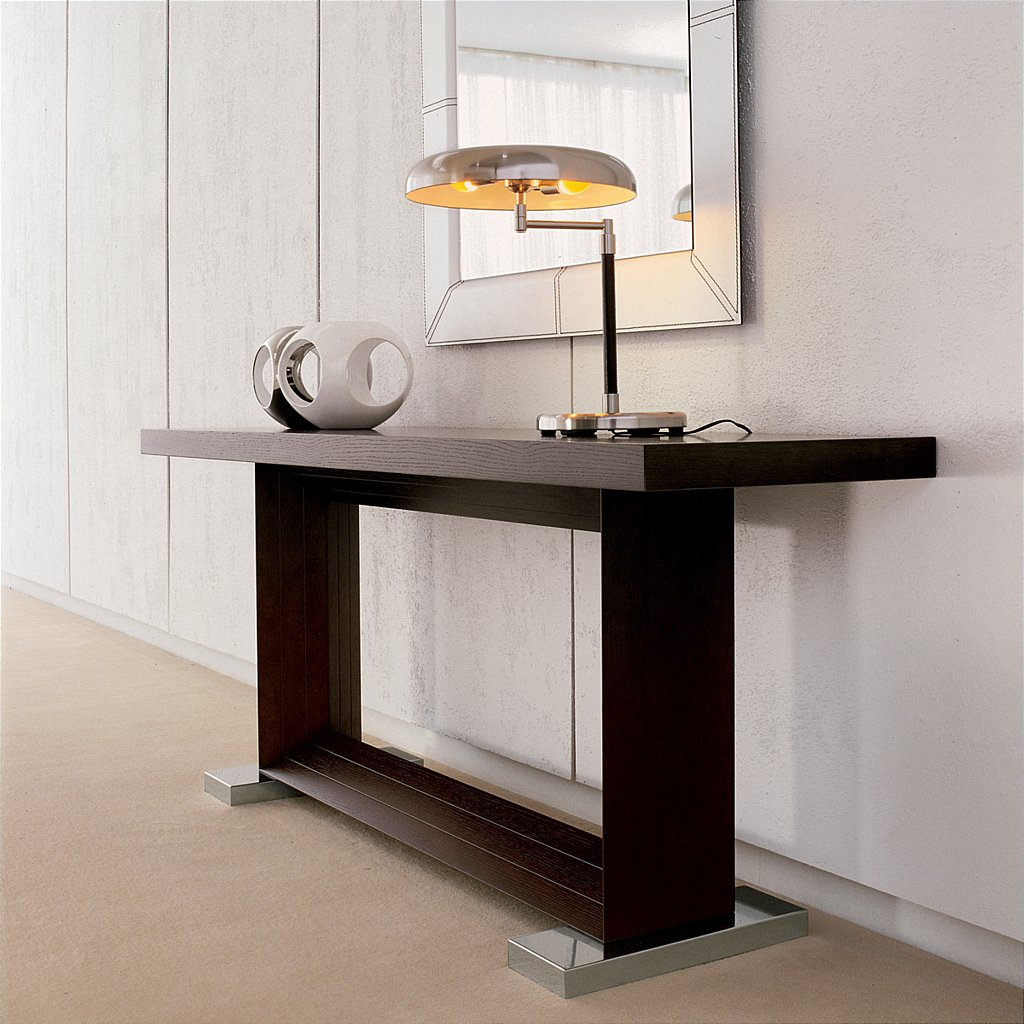 Fabulous Cattelan Italia Monaco Console Table With Large Console Table.