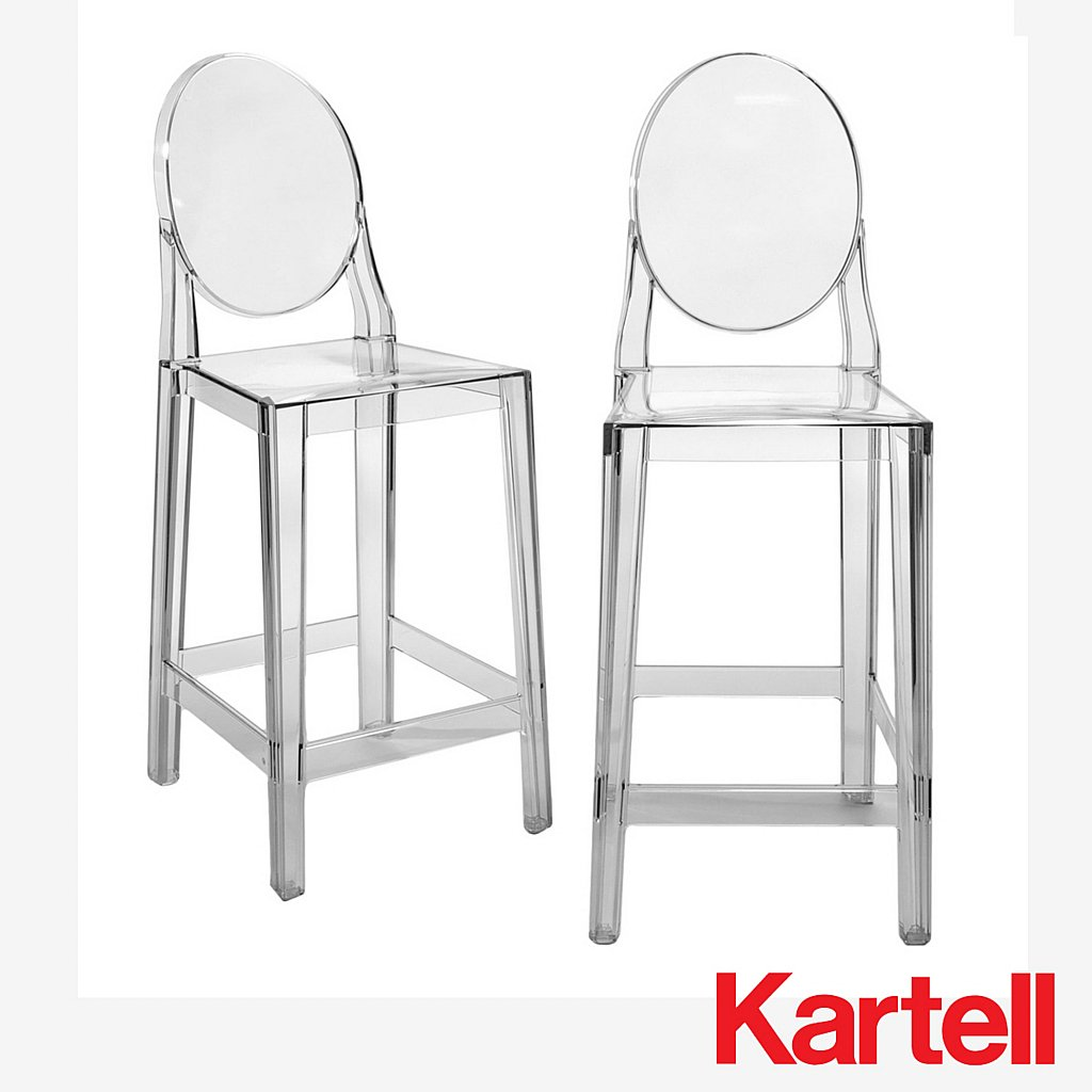 kartell one more please bar stool  vale furnishers -