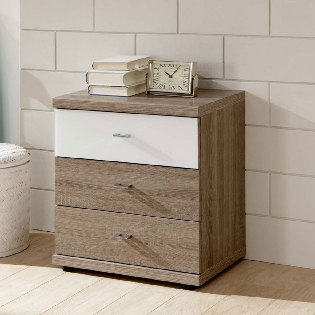 Bedside chest drawers home design for Small bedside chest of drawers