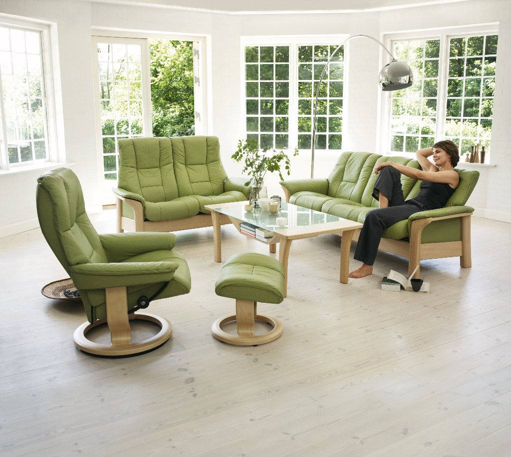 Stressless consul small chair and stool in batick leather - Stressless Consul Small Chair And Stool In Batick Leather 83