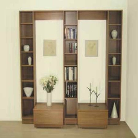 Beaver and Tapley - Tapley 33 Teak Wall Unit. Click for larger image.
