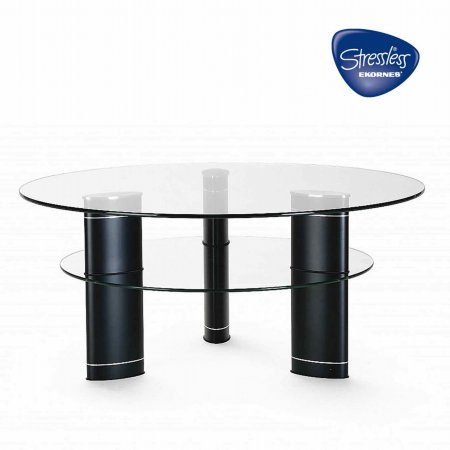Stressless - Jazz Circular Coffee Table. Click for larger image.