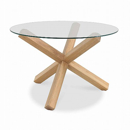 Dining table glass dining table round for Round glass dining table