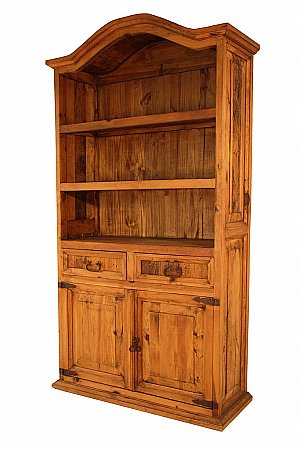Vale Furnishers - Segusino Tall Bookcase. Click for larger image.