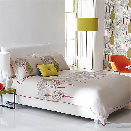 Harlequin - Silhouette Bed Linen. Click for larger image.
