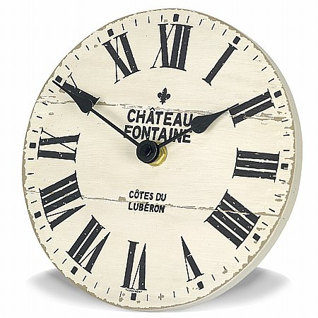 Art Marketing - Vale Furnishers Chateau Fontaine Mantel Clock. Click for larger image.