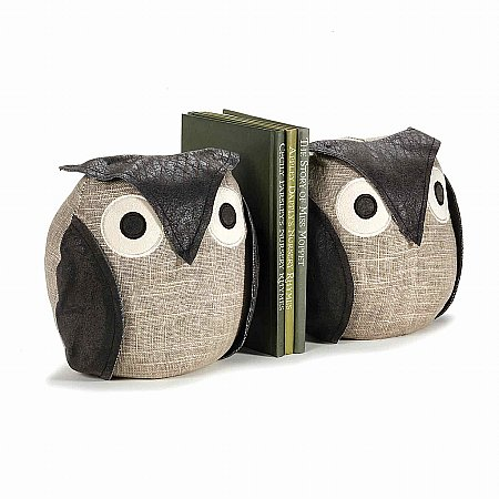 Dora Designs - Bookends - Ollie the Owl. Click for larger image.