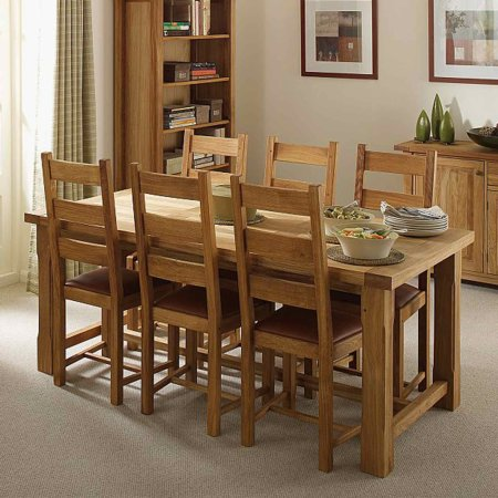 Vale Furnishers - Bordeaux Dining Set. Click for larger image.