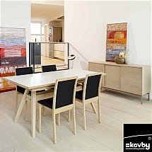 3560/Skovby/SM11-Extending-Dining-Table