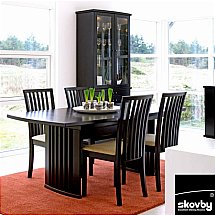 3766/Skovby/SM19-Extending-Dining-Table