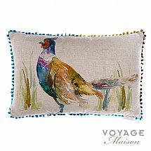10230/Voyage-Maison/Country-Ring-Neck-Pheasant-Cushion