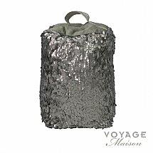 10210/Voyage-Maison/Couture-Aquilla-Platinum-Sequin-Doorstop