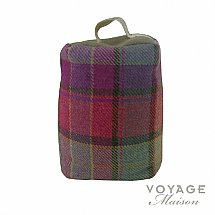 10211/Voyage-Maison/Highlands-Iona-Raspberry-Tartan-Door-Stop