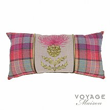 10217/Voyage-Maison/Highlands-Harris-Tartan-Berry-Pillow