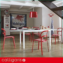 Dining tables extending vale furnishers for Calligaris key table