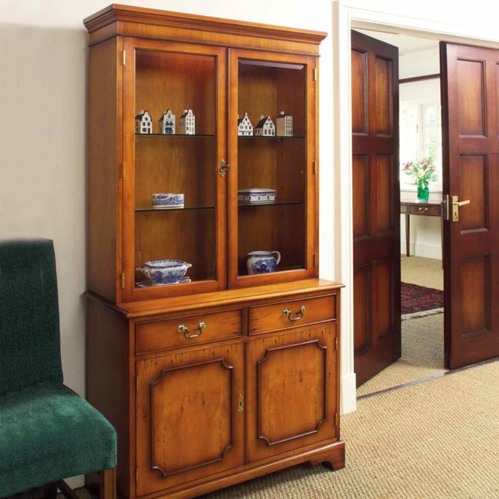 Bradley Classic Display Cabinet Vale Furnishers