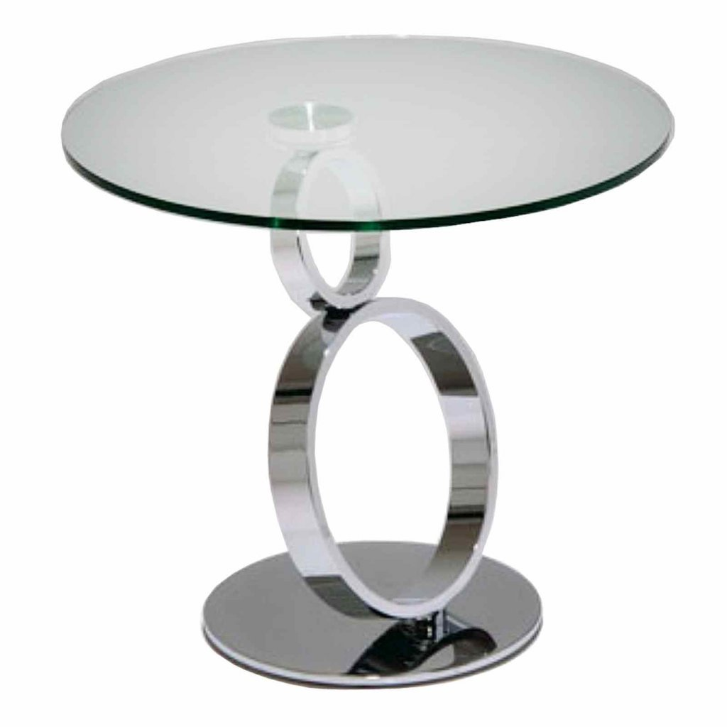 Vale Furnishers Eternity Lamp Table Chrome