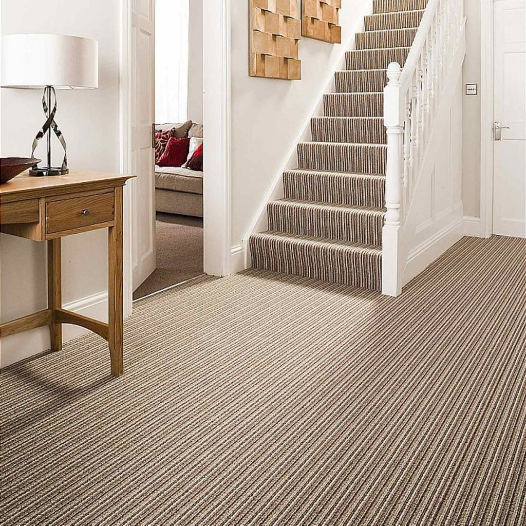Ryalux fenland loop stripe carpet vale furnishers for Carpet flooring