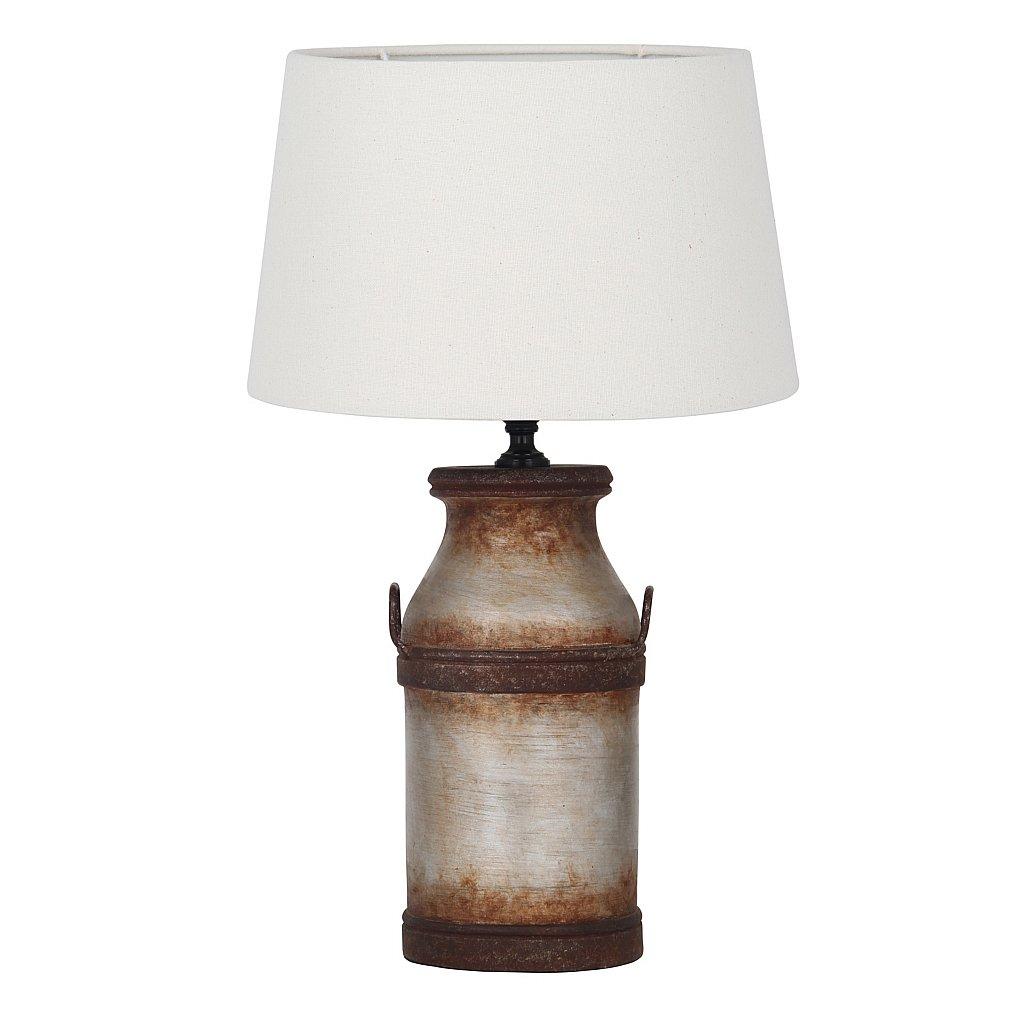 Vale Furnishers Stoneware Milk Churn Table Lamp