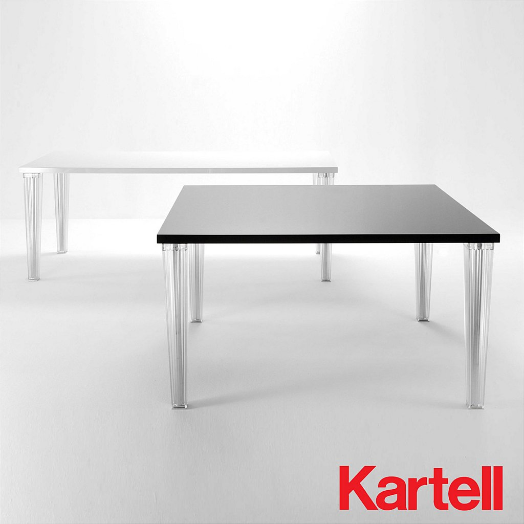 Kartell top top dining table vale furnishers for Table kartell