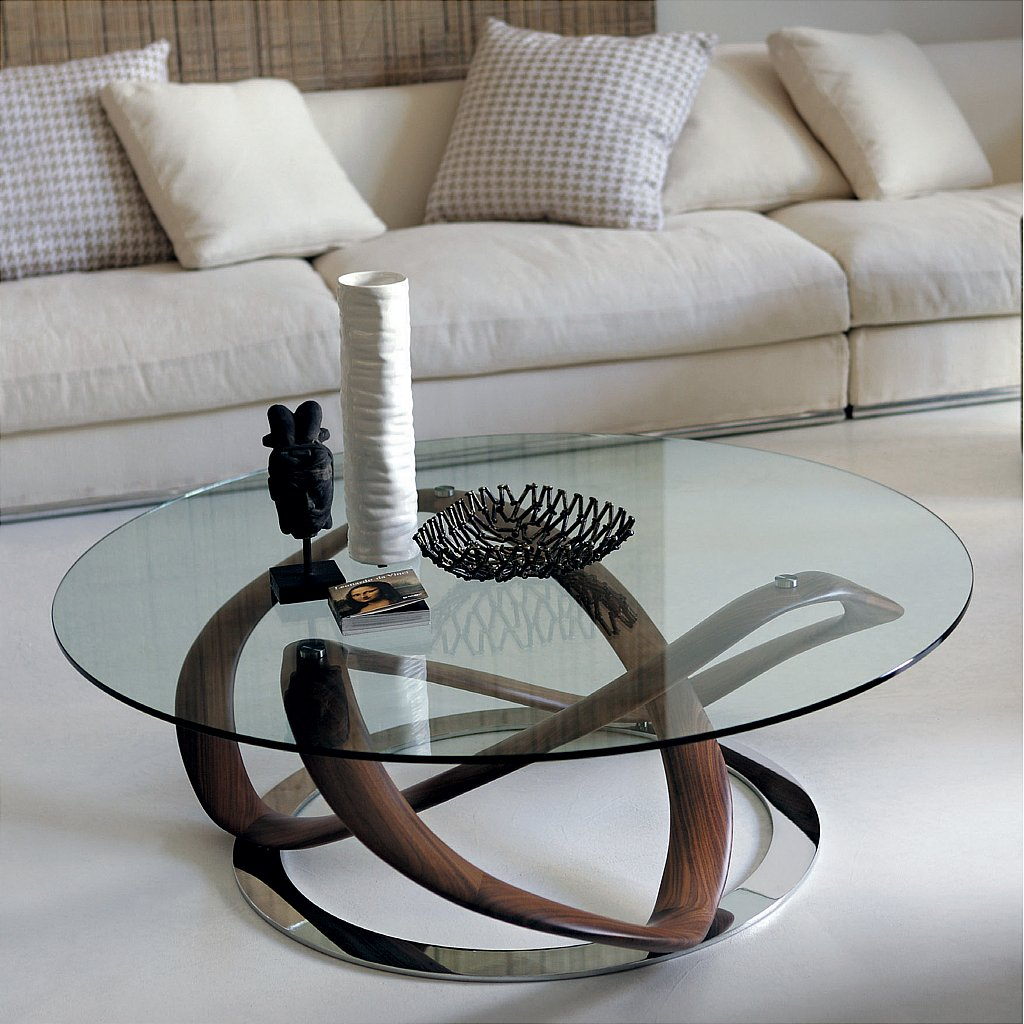 Porada infinity tondo coffee table vale furnishers - Table basse ultra design ...