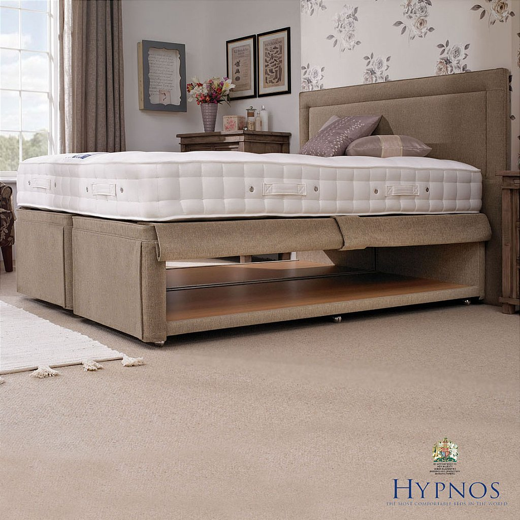 Hypnos hideaway divan vale furnishers for Hypnos divan beds