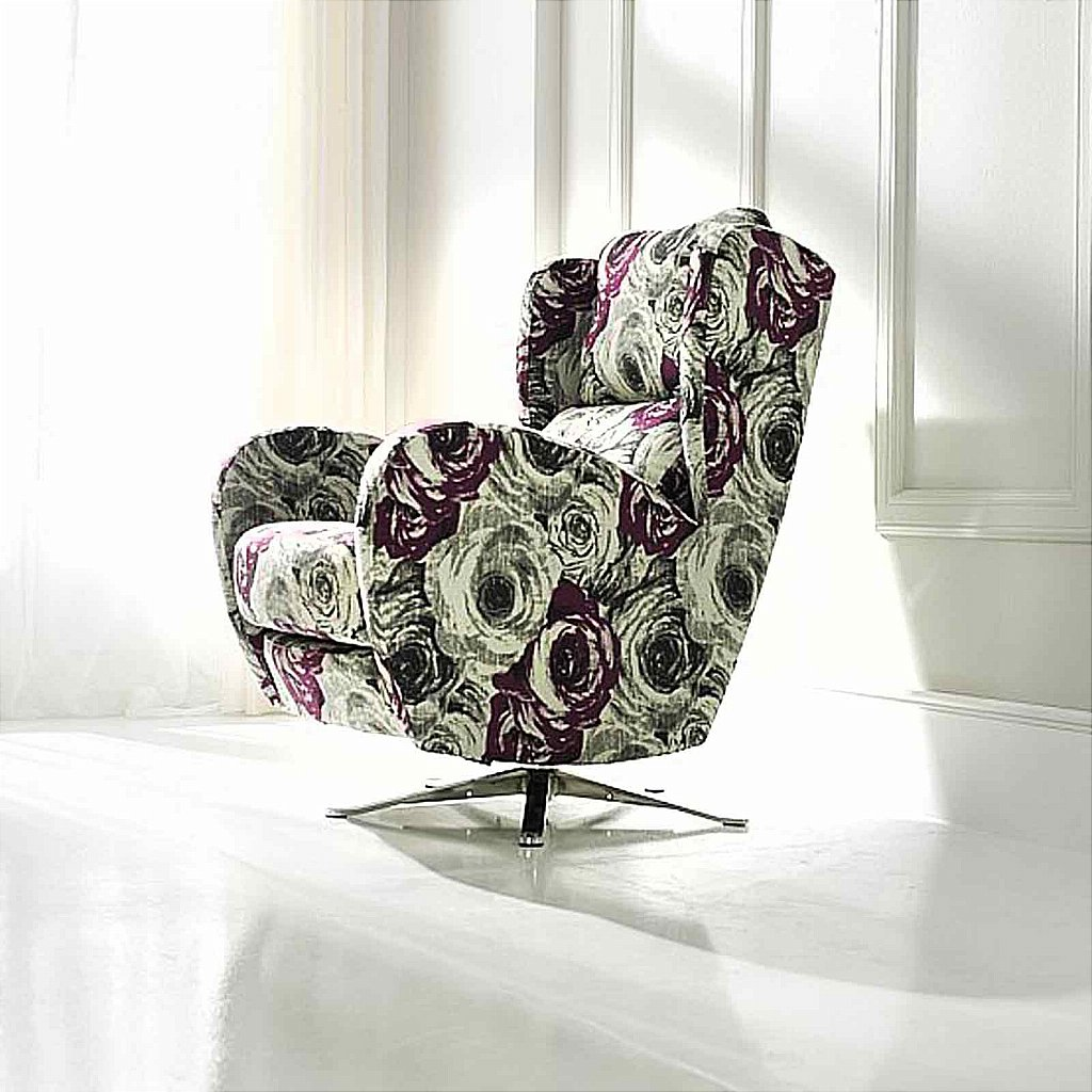 Vale Furnishers Morgan Swivel Chair Fabric