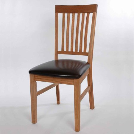 5151/Vale-Furnishers/Vale-Oak-Leather-Dining-Chair