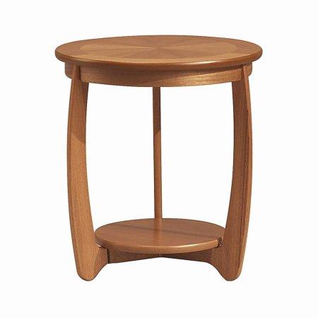3074/Nathan/Teak-Collection-Shades-Sunburst-Top-Lamp-Table