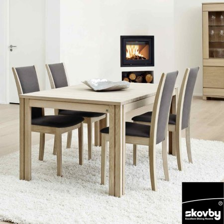3778/Skovby/SM23-Extending-Dining-Table
