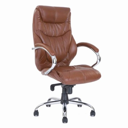 2258/Vale-Furnishers/Executive-Office-Chair-in-Tan-Leather