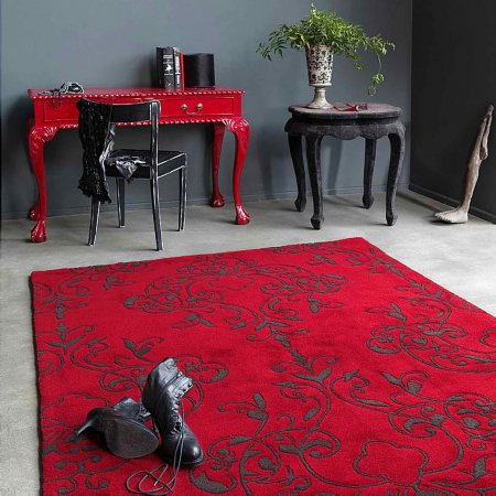 4421/Vale-Furnishers/Harlequin-Milano-Red-Rug