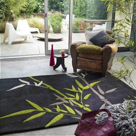 4414/Vale-Furnishers/Harlequin-Bamboo-Grey-and-Green-Rug