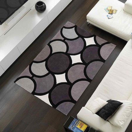 4409/Vale-Furnishers/Harlequin-Bubble-Grey-Rug