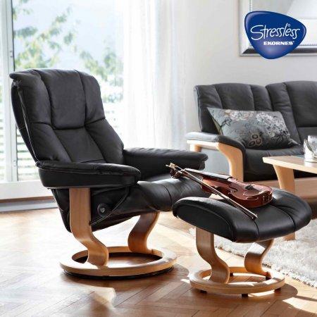 8276/Stressless/Mayfair-Large-Reclining-Chair