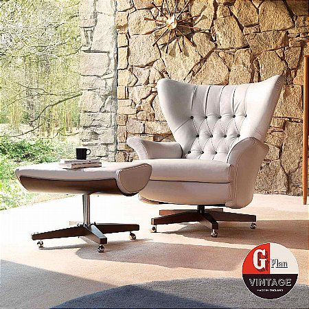 13109/G-Plan-Vintage/The-Sixty-Two-Chair-and-Footstool