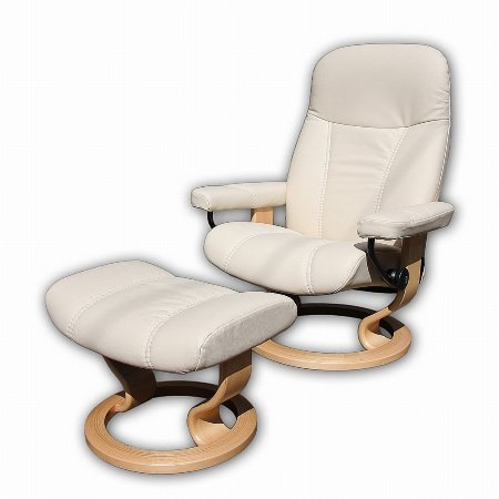 6122/Stressless/Consul-Large-in-Batick-Cream-and-Natural-Base
