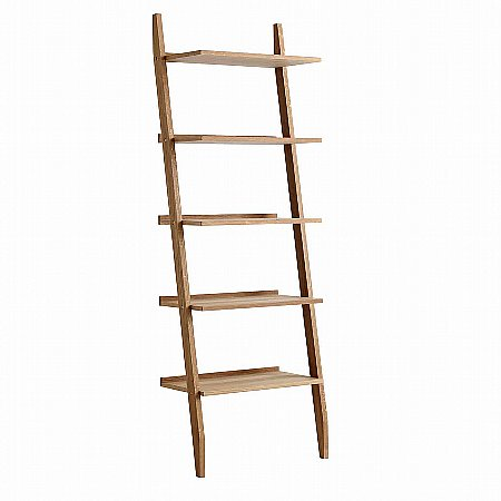 9679/Vale-Furnishers/Vale-Oak-Ladder-Shelving-Unit