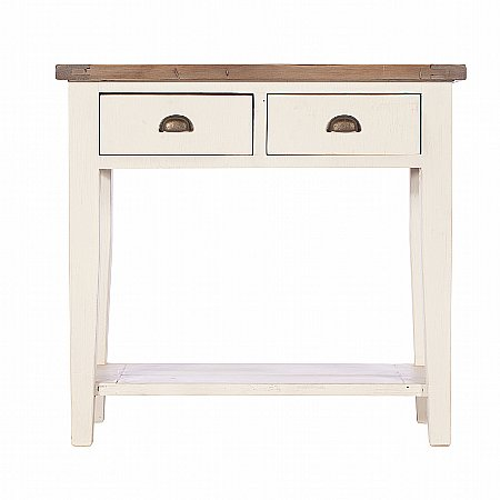 9989/Vale-Furnishers/Chertsey-Two-Drawer-Hall-Table