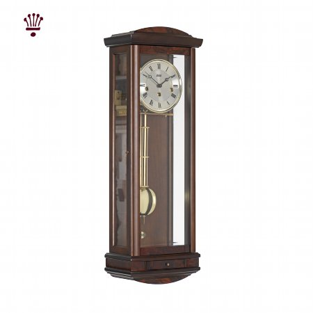 4968/BilliB/Abbeydale-Wall-Clock-Walnut