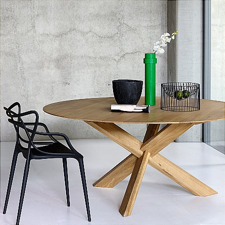 10933/Ethnicraft/Oak-Circle-Dining-Table