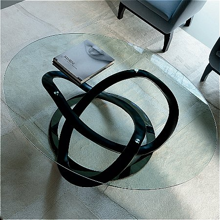 Porada Infinity Ovale Coffee Table Vale Furnishers