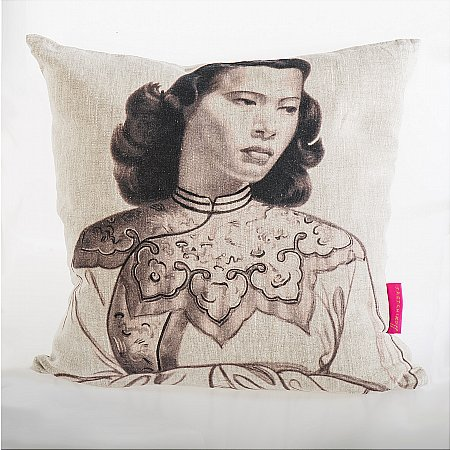 11061/Tretchikoff/Tretchikoff-Monotone-Chinese-Girl-Cushion