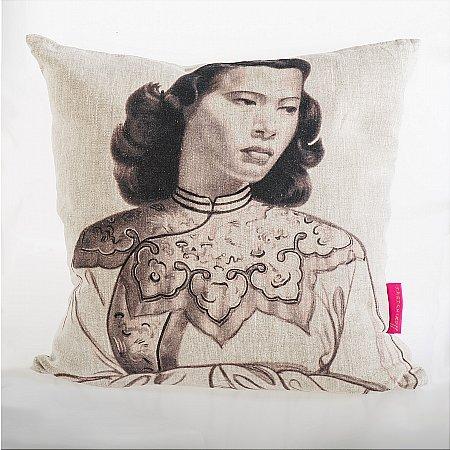 11061/Tretchikoff/Tretchikoff-Monotone-Chinese-Girl-Cushion