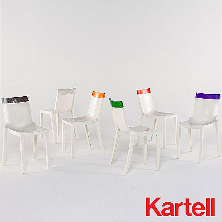 11360/Kartell/Hi-Cut-Dining-Chair