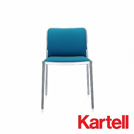 kartell audrey soft dining chair