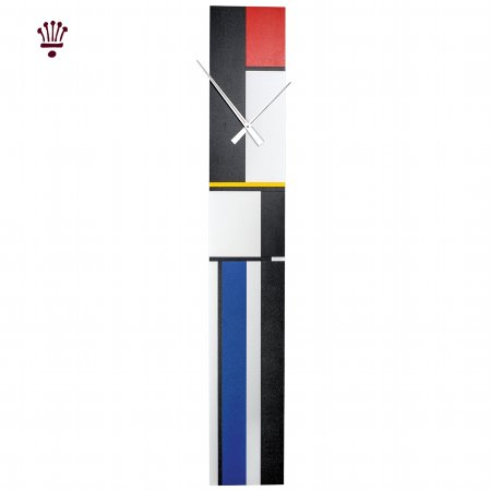 11973/BilliB/Bubblegum-Mondrian-Style-Wall-Clock